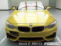 2015 BMW M4 CONVERTIBLE EXECUTIVE M DCT NAV HUD