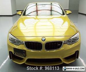 2015 BMW M4 CONVERTIBLE EXECUTIVE M DCT NAV HUD for Sale