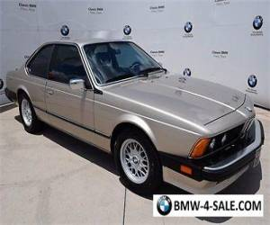 1987 BMW 6-Series 635CSI for Sale