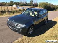 2007 BMW X3 3.0 TURBO DIESEL, LOW KM, PANORAMIC ROOF, FULLY SERVICED