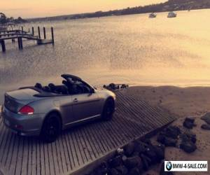 BMW 650i convertible e64 for Sale
