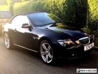 BEAUTIFUL 2005 BLACK BMW 645 4.4 AUTO Ci CONVERTIBLE GREAT ALL ROUND CONDITION