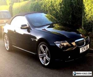 BEAUTIFUL 2005 BLACK BMW 645 4.4 AUTO Ci CONVERTIBLE GREAT ALL ROUND CONDITION for Sale
