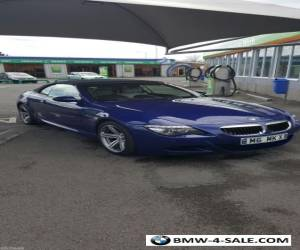 RARE BMW M6 RARE M BLUE AND LOW MILEAGE for Sale