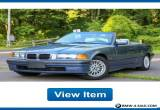 1999 BMW 3-Series Base Convertible 2-Door for Sale