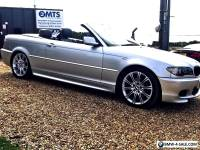 BMW E46 Convertible 320cd M Sport