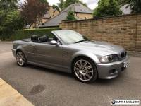 BMW M3 E46 2006 56 REG CONVERTIBLE SMG2 DRIVELOGIC 66K MILES WITH FBMWMDSH