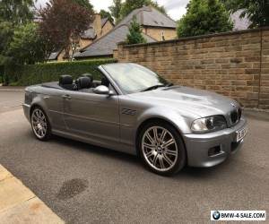 BMW M3 E46 2006 56 REG CONVERTIBLE SMG2 DRIVELOGIC 66K MILES WITH FBMWMDSH  for Sale