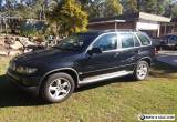 2001 BMW X5 4x4 Wagon 4.4i V8 AUTO E53 SPORT for Sale
