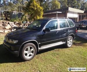 2001 BMW X5 4x4 Wagon 4.4i V8 AUTO E53 SPORT for Sale
