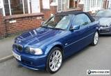 BMW 318 SE Convertible, 2.0, 2002, Blue for Sale
