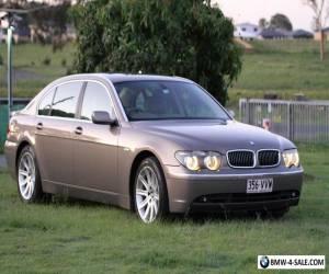 BMW 745LI Sedan Will consider reasonable offers  for Sale