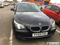 2009 BMW 520D SE BUSINESS EDITION/LCI/ BLACK/GREAT SPEC/177BHP/FULL LEATHER