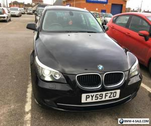 2009 BMW 520D SE BUSINESS EDITION/LCI/ BLACK/GREAT SPEC/177BHP/FULL LEATHER for Sale