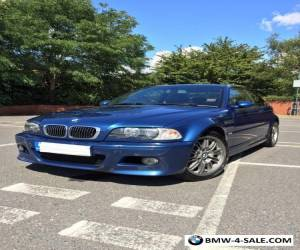 2002 BMW E46 M3 SMG (II) Coupe for Sale