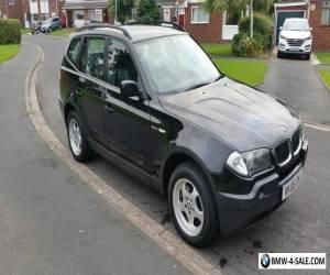 2006 BMW X3 20d 6 SPEED DIESEL 4X4 for Sale