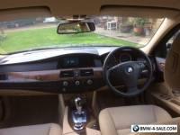 2008 BMW 530D SE TOURING  BLUE