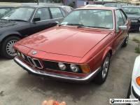 1977 BMW 633CSi E24 Auto carmen