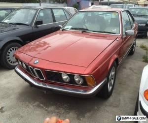 1977 BMW 633CSi E24 Auto carmen for Sale