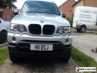 BMW X5 private plate 2003