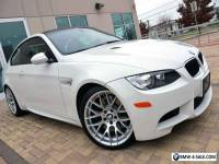 2012 BMW M3 Coupe Competition MSRP $76k ONLY 6k Miles PRISTINE