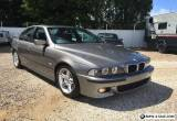2002 BMW E39 525i M-SPORT Possibly best one in Australia. for Sale