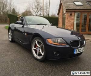 Rare Blue BMW Z4 2.5l SE Auto Petrol, 12m MOT, 5m TAX, SERVICE HISTORY 91K Miles for Sale