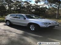 2006 BMW X5 E53 Wagon 5 door Steptronic 6 speed Sports Automatic Silver Sunroof