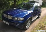 2004 BMW X5 E53 4.8is V8 Petrol for Sale