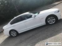 BMW 520D SE 5 SERIES DIESEL WHITE