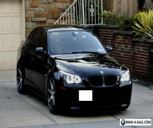 2008 BMW M5 Black Sapphire Metalic w. Available Extended Warranty for Sale