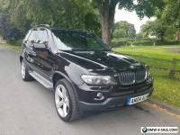 BMW X5 E53 2004 3.0D SPORT AUTO  BLACK EXCLUSIVE WIDE ARCH