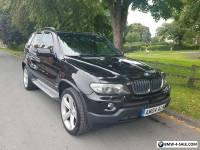 BMW X5 E53 2004 3.0D SPORT AUTO  BLACK EXCLUSIVE WIDE ARCH