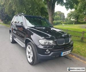 BMW X5 E53 2004 3.0D SPORT AUTO  BLACK EXCLUSIVE WIDE ARCH for Sale