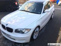 "BMW 1 series coupe 120d se, white, 18""allots"