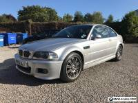 BMW M3 E46 2001 Manual Coupe Full service history 48,500mls 3 owners from new.
