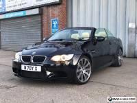 2010 - BMW E93 M3 DCT (EDC) ** INDIVIDUAL ** AZURITE BLACK **  4.0 V8