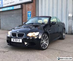2010 - BMW E93 M3 DCT (EDC) ** INDIVIDUAL ** AZURITE BLACK **  4.0 V8 for Sale