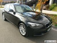 BMW 116i (black)