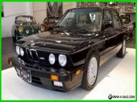 1988 BMW M5 Base Sedan 4-Door