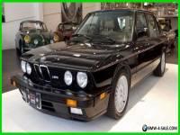 1988 BMW M5 Base Sedan 4-Door