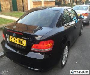 BMW 1 Series 120d Coupe Black for Sale