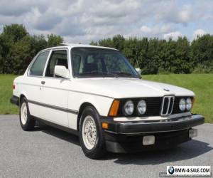 1983 BMW 3-Series 320is for Sale