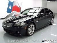 2014 BMW 5-Series 550I M SPORT LINE EXECUTIVE SUNROOF NAV