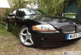 Z4 E85 2.5i SE Roadster 2005 Black, 44,287 miles for Sale