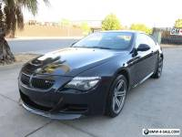 2009 BMW M6 2009 BMW M6 Coupe 5.0L V10