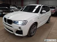 2016 BMW X3 F25 2L turbo diesel 13km ideal export not damaged drives like new