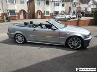 2003 BMW 330 CI MSPORT AUTO GREY CONVERTIBLE LOW MILEAGE