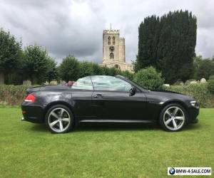 BMW 630 Series Sport Convertible - Huge Spec - Auto / Paddle Shift  for Sale
