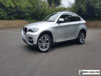 BMW X6 30D Xdrive,December 2013,'63,titanium silver, 38000 miles,black leather